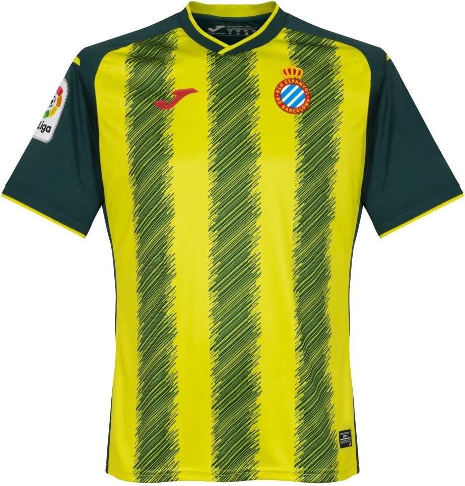 Joma RCD Espanyol Tercera Equipación 2017-2018, Camiseta, Verde ...