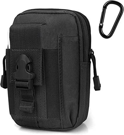 Sling Hip Bag Tactical Concealed Carry waist /& Shoulder Strap cell phone pocket