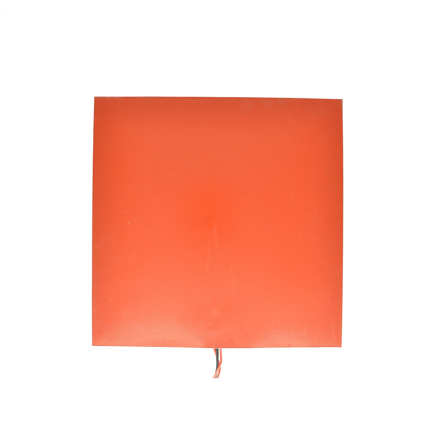 RobotDigg SRHT300SQ-220VAC Rubber Heater 300x300mm Flexible Heater Pad 220V 450W Silicone Heater Pad Mat for 3D Printer Use