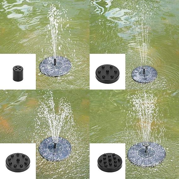 KinshopS - Bomba sumergible de riego del estanque del jardín del ...