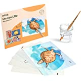 Relish Ocean Life Aquapaint Water Painting Art Pack – Alzheimer's Products / Aids & Dementia Activities for Seniors