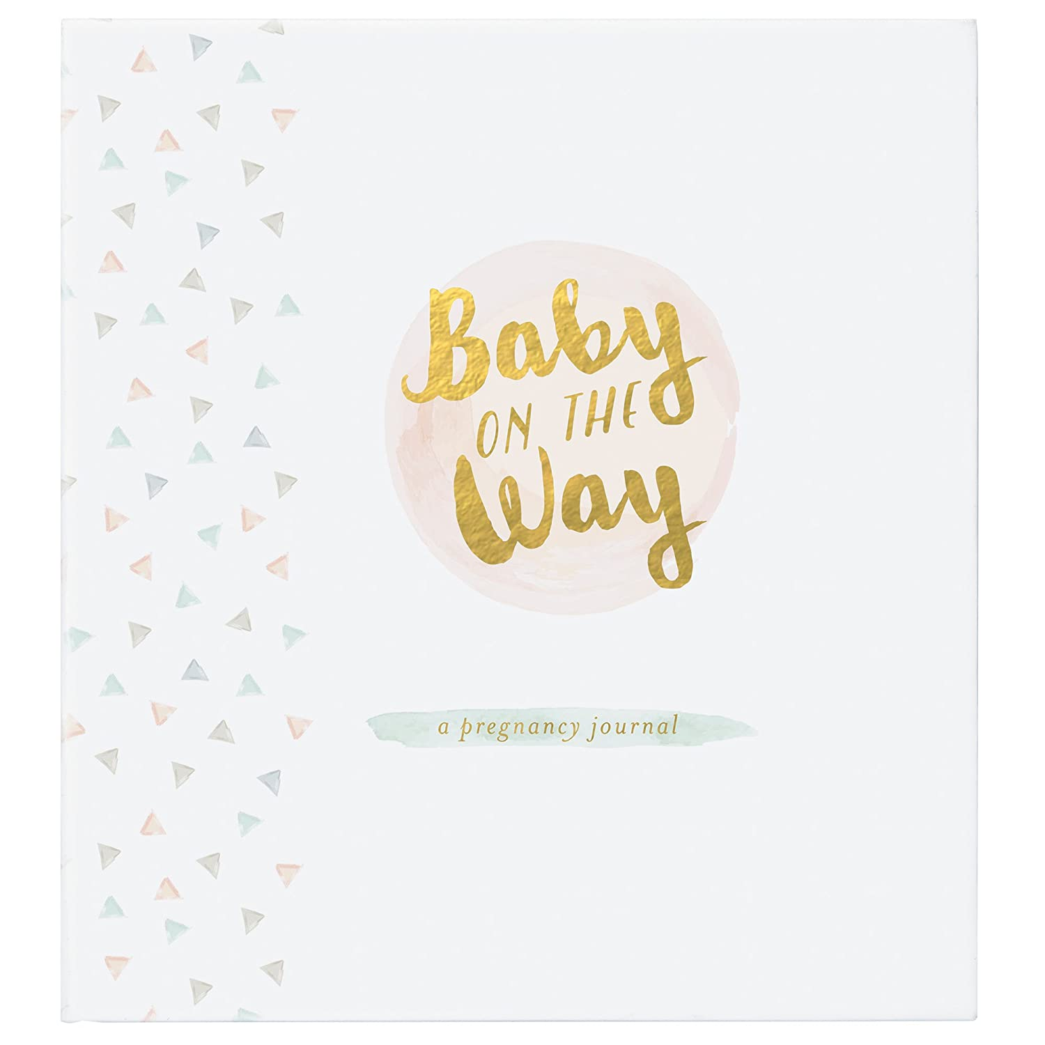 C.R. GibsonBaby On The Way Pregnancy Journal for Expecting Mothers, 7.875 W x 9.25 H, 160 Pages 7.875 W x 9.25 H C.R. Gibson - Baby BPMJ-18494