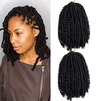 Amazon Com Aigemei Popular Spring Twist Natural Hair African