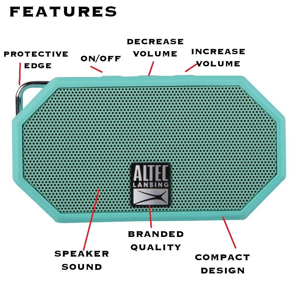 Altec Lansing Waterproof Hands Free Ultra Portable Image 2