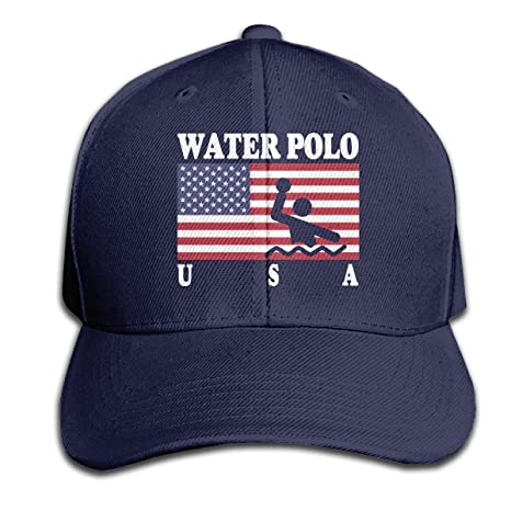 LouisBerry Polo Americano de Bandera Gorra Pure Color Peaked Gorra ...