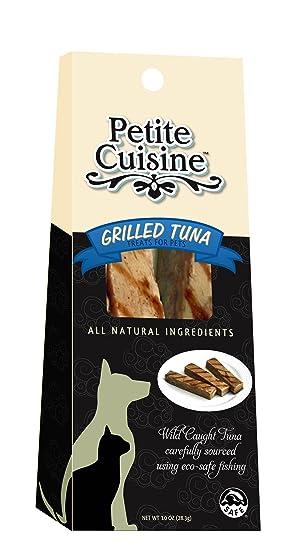 Petite Cuisine gegrillten Thunfisch Pet behandelt, 12 Stück: Amazon ...