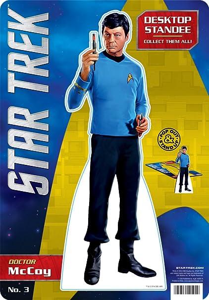 Amazon Com Aquarius Star Trek Mccoy Desktop Standee Toys Games