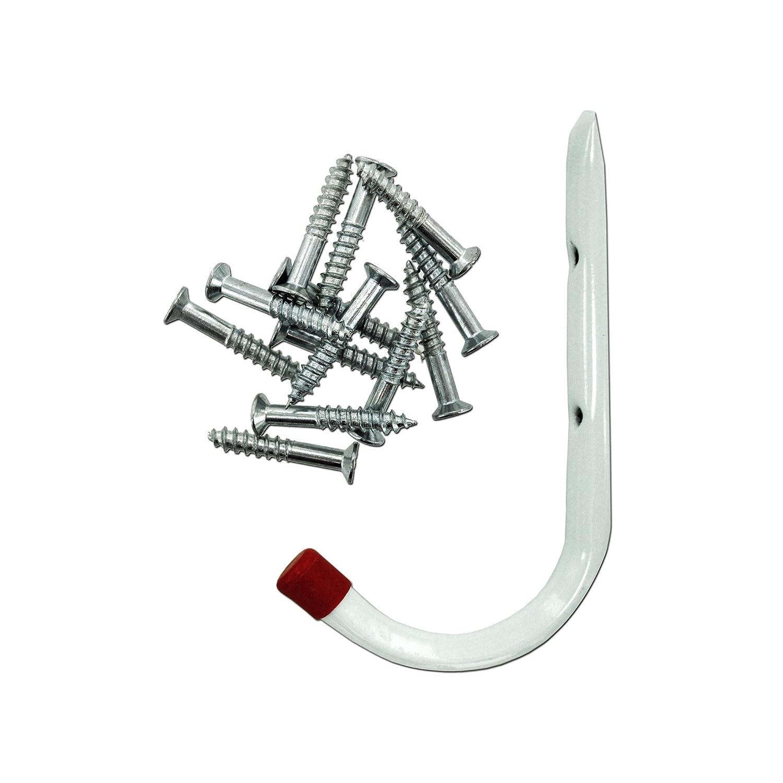 123-Wholesale - Set of 10 Garage Storage Hooks - Hardware Hooks & Prongs