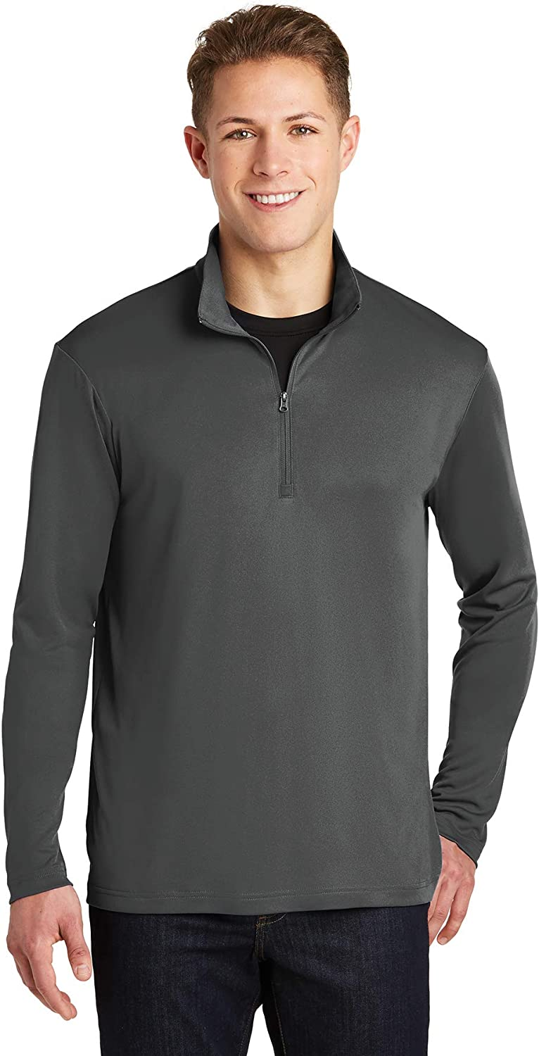 Clothe Co Mens Athletic Performance 1//4-Zip Pullover