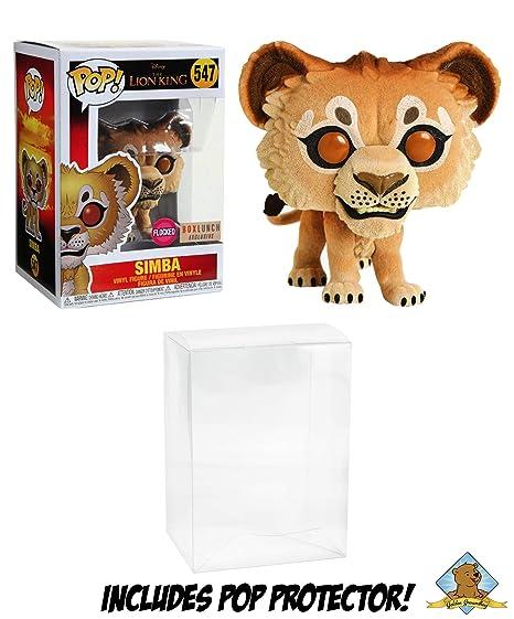 Amazoncom Simba The Lion King 2019 Flocked Boxlunch