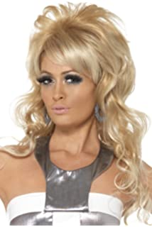 2d0ac8631a Smiffy s Women s Rock Diva Wig Two Tone Ginger and Long Mullet ...