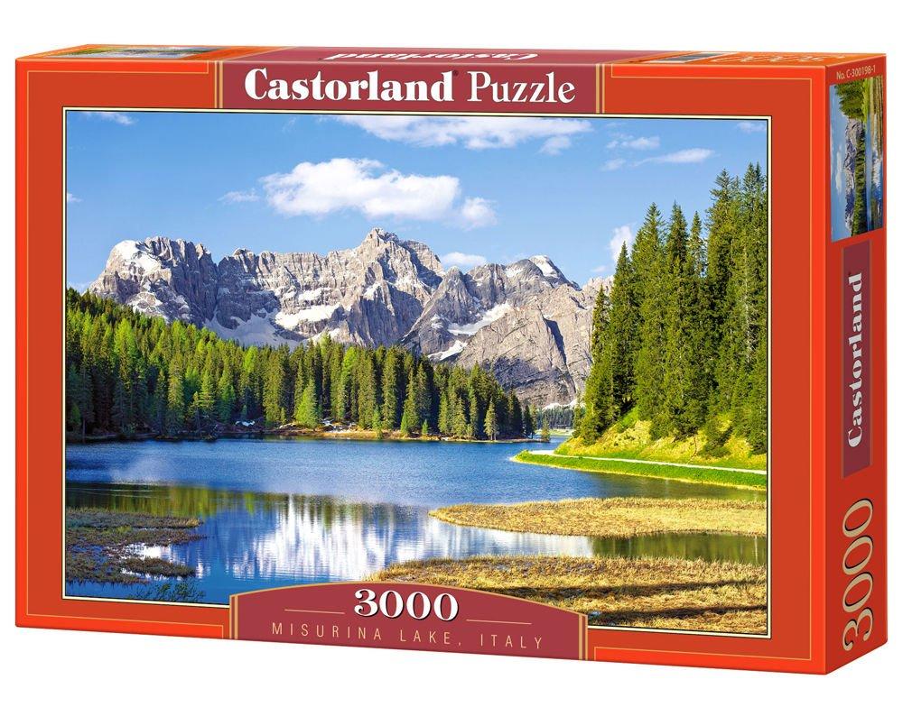 CASTORLAND Misurina Lake, Italy 3000 pcs 3000pieza(s) - Rompecabezas (Italy 3000 pcs, Jigsaw puzzle, Paisaje, Niños y adultos, Niño/niña, 9 año(s), Interior) C-300198-2 B003Y5Z6TI