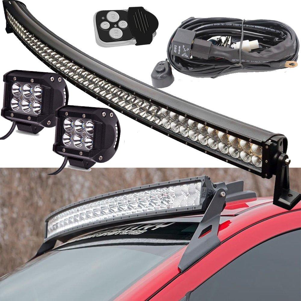 300W 52Inch LED Arbeitsscheinwerfer Bar Scheinwerfer Schalter ...