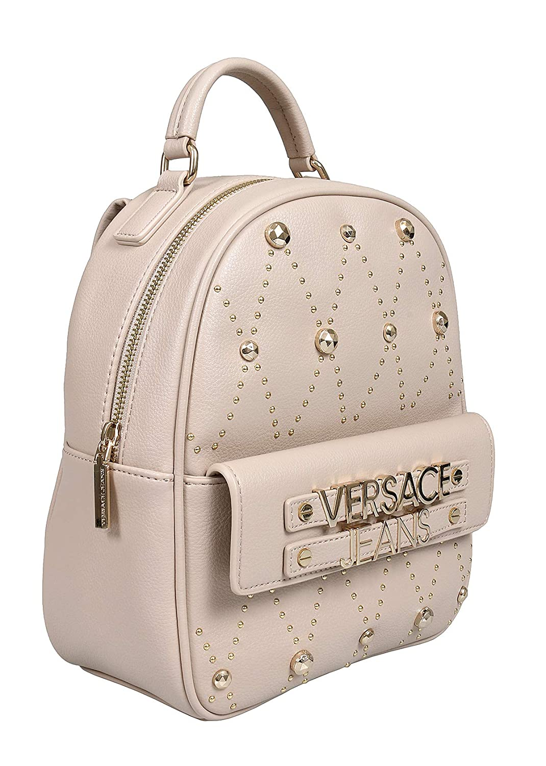 Versace EE1VTBBE7 E723 Taupe Backpack for Womens E1VTBBE770883