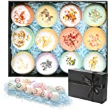 Bath Bombs Gift Set 12Pcs Handmade Bath Bomb for Women Floating Bubble Fizzies Spa Kit Birthday Mothers Day Christmas Gifts f