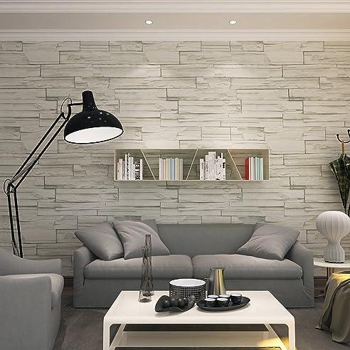hanmero®modern vliestapete chinesische art steinoptik prägung ... - Wohnzimmer Modern Hell