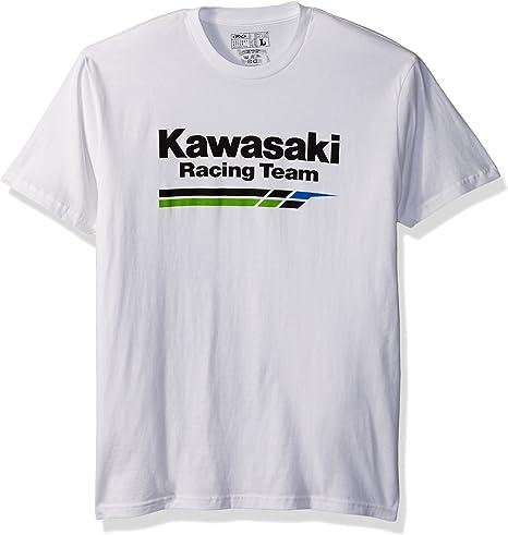 17-87124 Heather Gray//Black, Large Factory Effex KAWASAKI Raglan Baseball Shirt