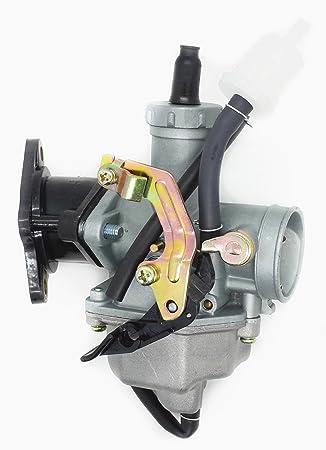 Carburetor /& Intake Manifold Boot for Honda FourTrax 200 TRX200 TRX200D