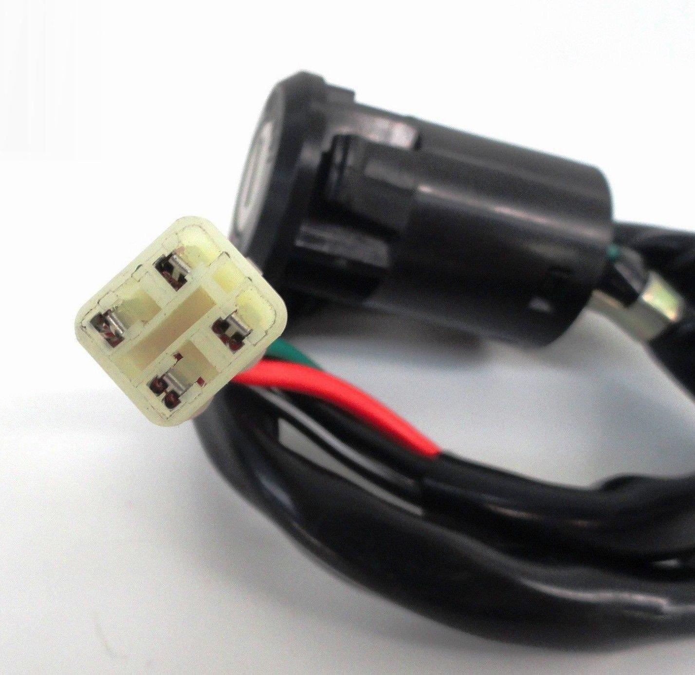 Amazon.com: CRU Key Ignition Switch 05 - Up Honda TRX 400EX TRX 400X 400 EX  X Warranty: Automotive