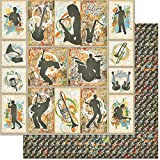 Teenagers Double-Sided Cardstock 12''X12''-Music