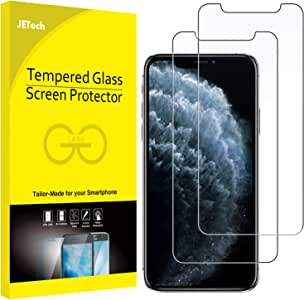 JETech Screen Protector Compatible with iPhone 11 Pro Max and iPhone Xs Max 6.5-Inch, Tempered Glass Film, 2-Pack