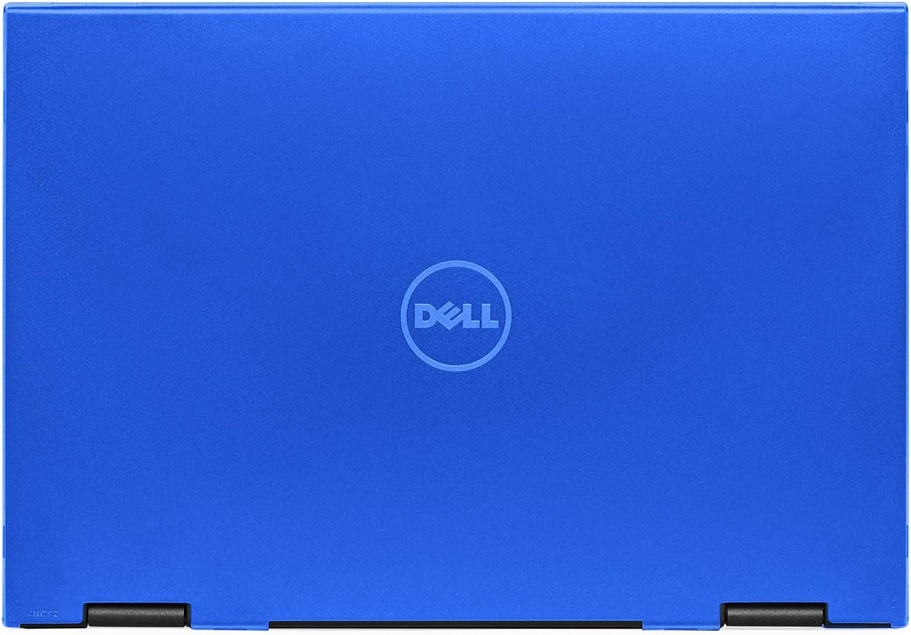 """mCover Hard Shell Case for 13.3"""" Dell Latitude 13 3390 2-in-1 Business Laptop Computers Released After Jan. 2018 (NOT Compatible with Other Dell Latitude Computers) (Blue)"""