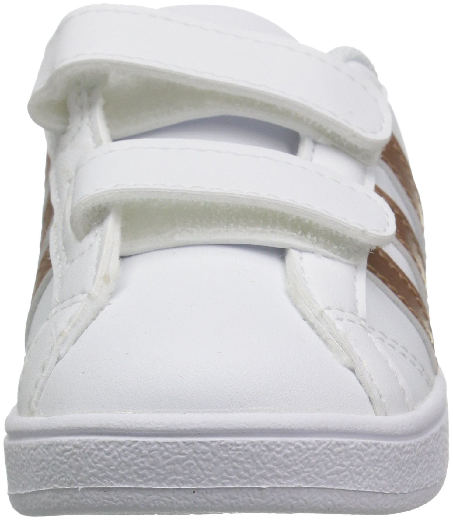 adidas Performance Baby Baseline, White/Copper Metallic/Black, 6K M US Toddler by adidas (Image #4)