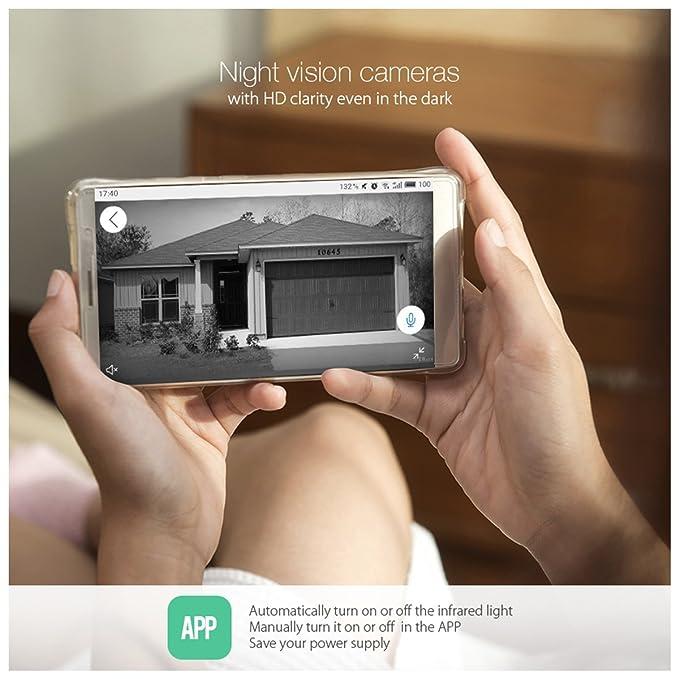 Amazon com : DIGOO Wifi 720P Video Doorbell, 6 in One Security