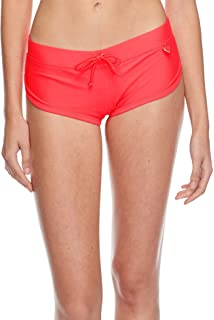 086e0191020943 Bodyglove Womens Smoothies Sidekick Sporty Swim Short Bikini Bottom  Swimsuit Bottoms