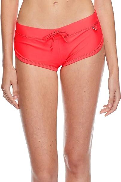 37dbbe00b7 Body Glove Women's Smoothies Sidekick Sporty Swim Short Bikini Bottom,  Diva, ...