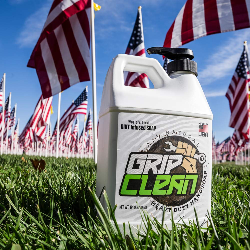 Grip Clean | DirtInfusedHeavy Duty Hand Cleaner - All Natural (1/2gal) x2 by Grip Clean (Image #5)