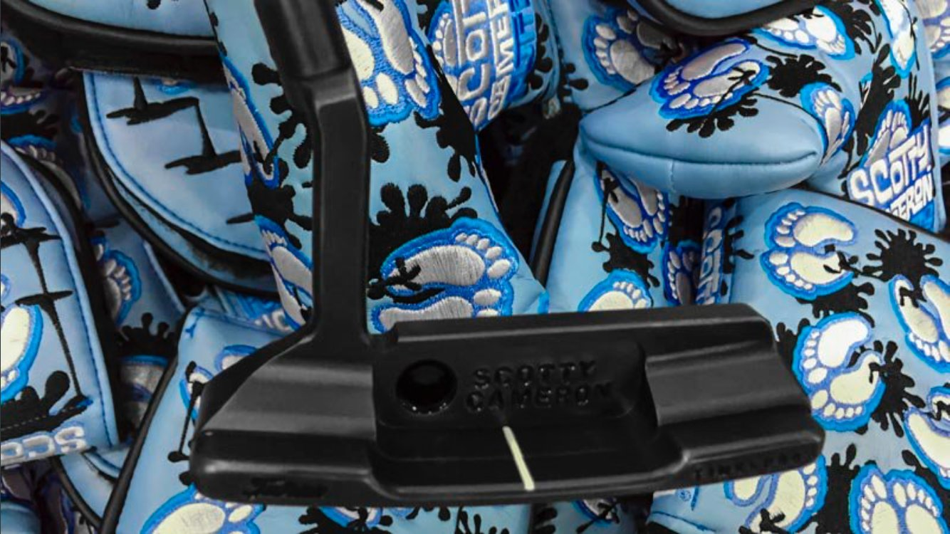 Scotty Cameron 2017 PGA Championship ''Tar Heels'' Limited Edition Putter HeadCover by Scotty Cameron (Image #5)
