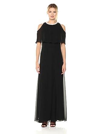 754bbc6cf7a S.L. Fashions Women s Cold Shoulder Popover W Bead Nk at Amazon ...