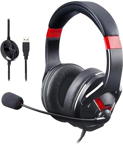 Amazon Basics Gaming Headset Mit Mikrofon Für Den Computer Zubehör