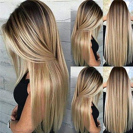 brun blond ombre