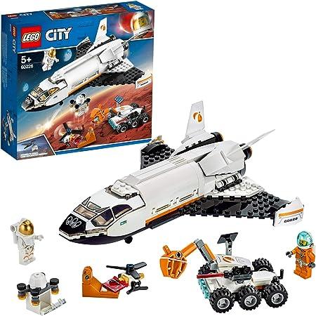 Incluye 2 minifiguras LEGO City de astronautas.,Este set de construcción para niños contiene una lan
