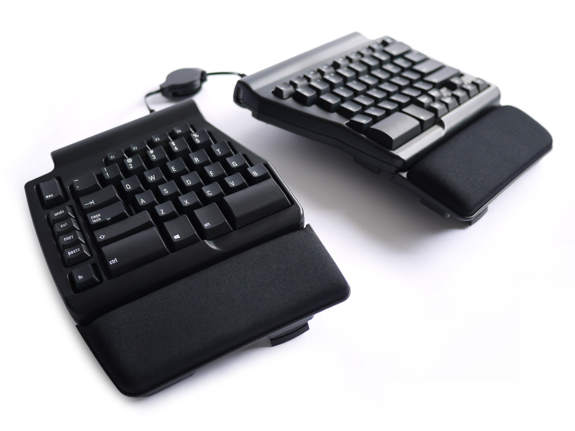 Matias Ergo Pro Keyboard for PC; Low Force Edition FK403RPC