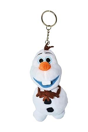 Disney - Llavero de peluche suave con diseño de Olaf de ...