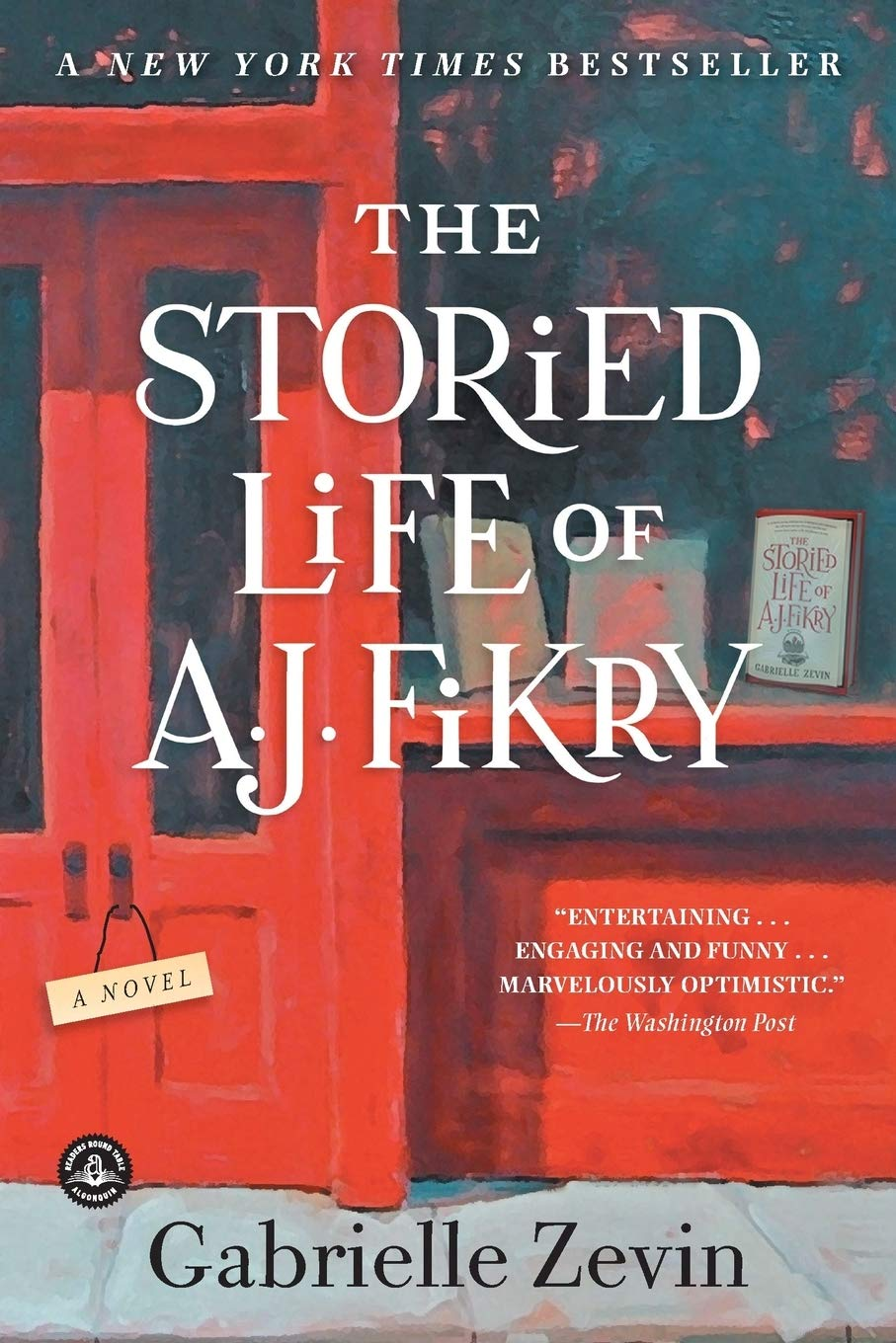 Image result for the storied life of aj fikry