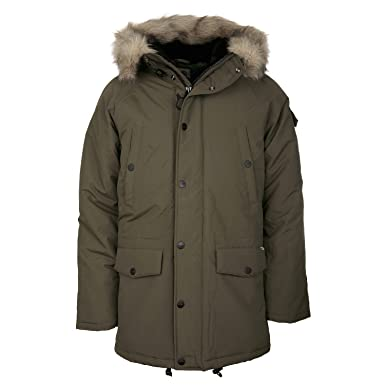 c2b73868c Carhartt Anchorage Men s Winter Parka Coat with Fur Cypress (Olive ...