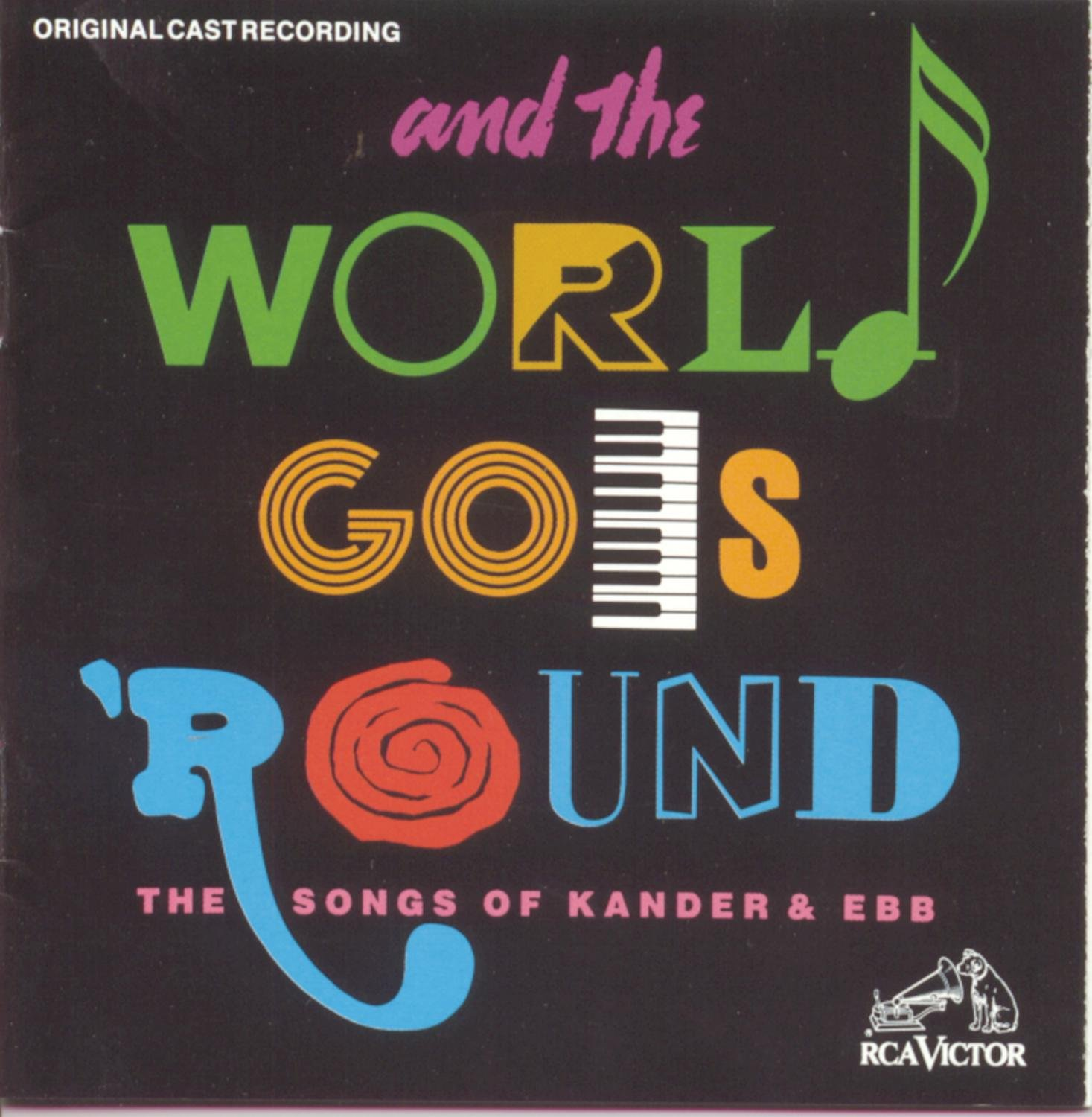 And The World Goes 'Round: Ranking TOP2 Songs 1991 Of Origin low-pricing Kander Ebb