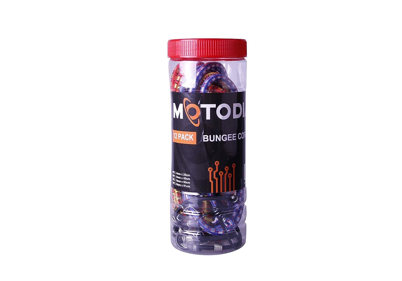 MotoDia Cables el/ásticos juego de 12