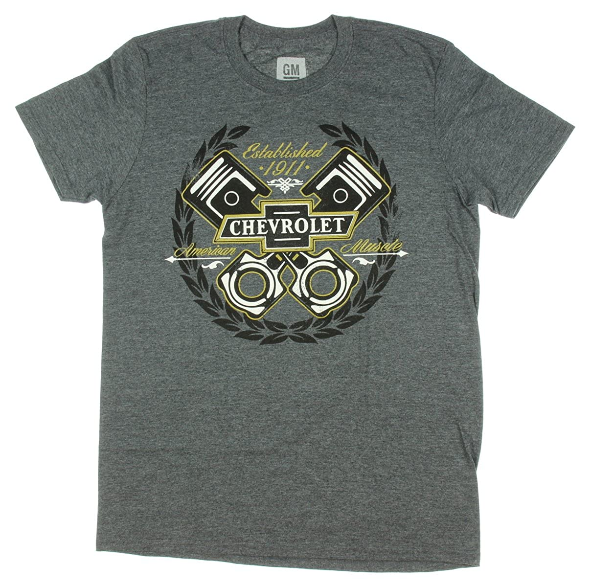Chevrolet American Muscle Established 1911 Licensed Graphic T-Shirt