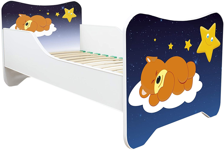 New !! 30 Designs 140x70 Toddler Children Kids Bed Including Mattress! Pony