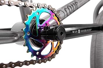 KHE Bmx bicicleta Cope gris solo 10,7 kg.: Amazon.es: Deportes y ...