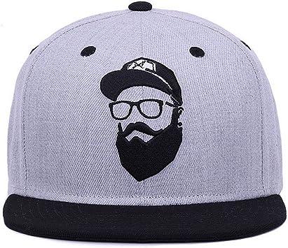 Unbranded Gray Gorras de béisbol Mujer KPOP Hip Hop Cap al ...