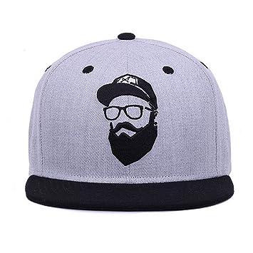 28216b224686 Unbranded Gray Gorras de béisbol Mujer KPOP Hip Hop Cap al Aire ...