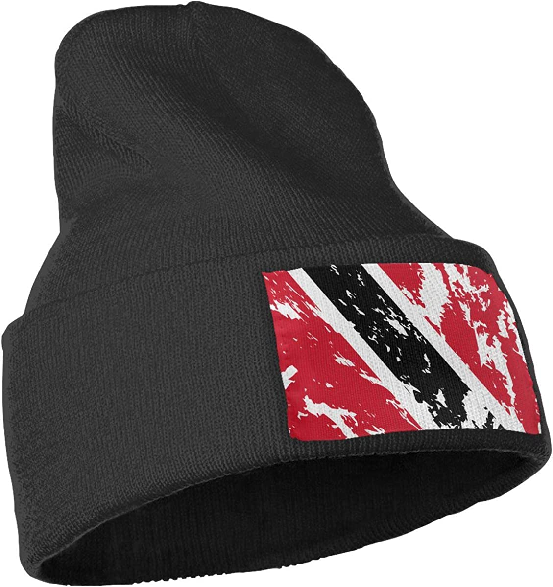 Lake-OD Men/&Women USA Guam Flag Winter Beanie Hat Cuffed Plain Skull Knit Hat Cap