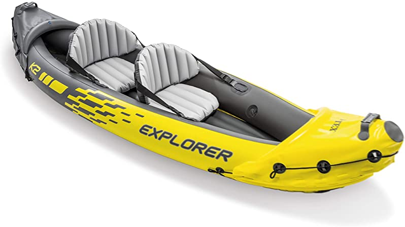 Amazon.com: Intex Explorer K2 Kayak, Set de Kayak inflable ...