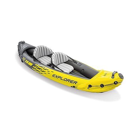 Intex Explorer K2 Kayak, Kayak Hinchable de 2 Personas Set con ...
